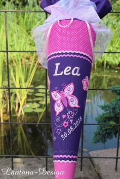 "Schultüte ""Butterfly 2"" lila-pink-rosa"
