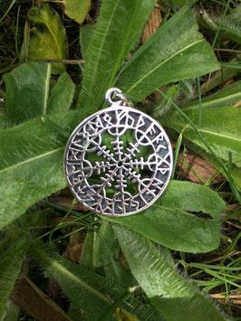 Schutzamulett mit Runen