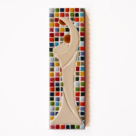 Vierge Mosaïque multicolore