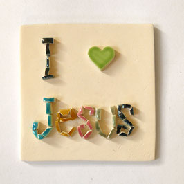 "Collection ""Message"" I love Jesus"