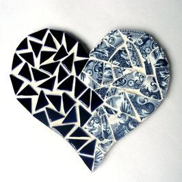 Cœur Bleu de sèvre