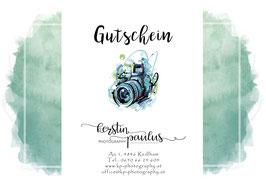 Gutschein Newborn Shooting