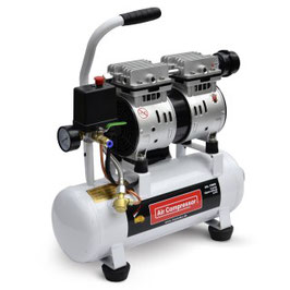 480W Flüster - Kompressor Druckluftkompressor nur 48dB leise ölfrei