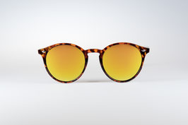 CHAPPEL - leopard / gold  mirrored