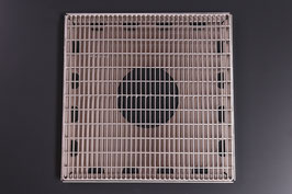 V2A gebürstet 1,5 mm - Gitterrost Edelstahl