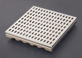 V2A gebürstet 1,5 mm - V2A-Lochrost