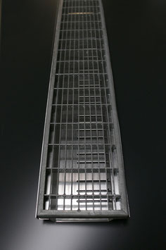 Aluminium 2 mm - Gitterrost verzinkt