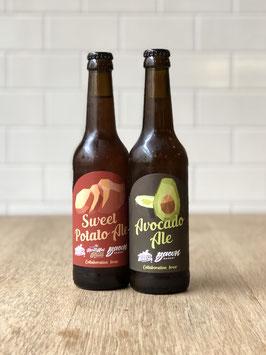 3x Avocado Ale + 3x Sweet Potatoe Ale