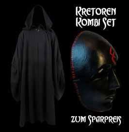 Kretoren Kombi Paket (Robe + Tunika + Scherpe + Maske)