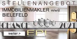 STELLENANGEBOT BIELEFELD IMMOBILIENMAKLER MAKLER (mwd)