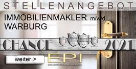 STELLENANGEBOT WARBURG IMMOBILIENMAKLER MAKLER (mwd)