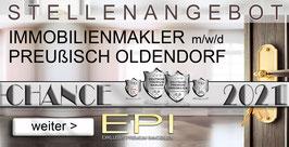 STELLENANGEBOT PREUßISCH OLDENDORF IMMOBILIENMAKLER MAKLER (mwd)