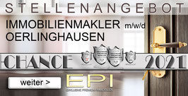 FRANCHISE ANGEBOT OERLINGHAUSEN IMMOBILIENMAKLER MAKLER (mwd)