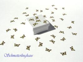 30 Schmetterlinge Größe S (16mm)