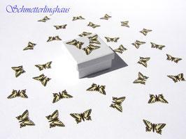 25 Schmetterlinge Größe M (24mm)