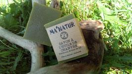 Savon à l'huile de Chanvre  Patchouli / Bois de hô