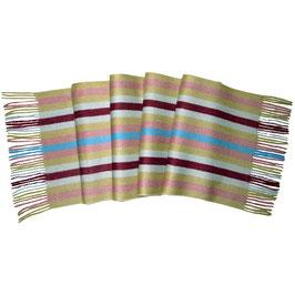 padmera® Kaschmirschal MULAN Candy Stripes