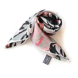padmera® Seiden Halstuch DOWNTOWN Pink Blossoms