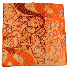padmera® Nickituch DOWNTOWN Orange Tangle