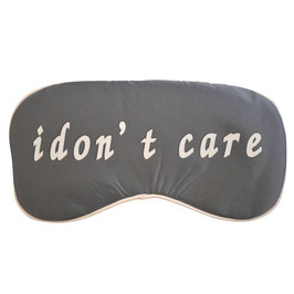 Seiden Maske I Don´t Care