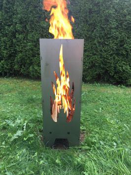Feuersäule Feuerstelle