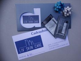 Liv Skin Care Kadobon €90,00
