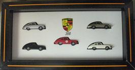 Porsche 356 Set Praliné