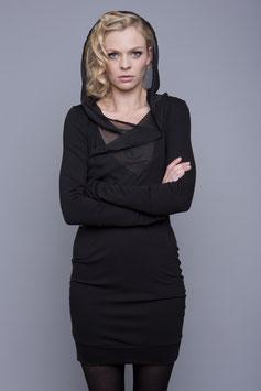 """Kleid """"Schlüsselblume"""", schwarz"""