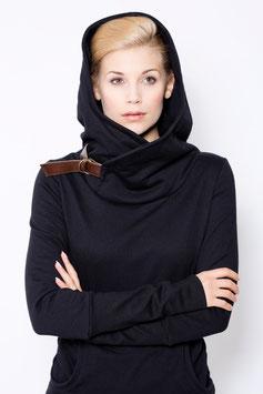 """hoodie """"löwenmäulchen"""", schwarz"""