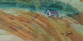 Een huisje op de duinen