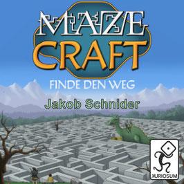 """Mazecraft - Finde den Weg - """"Print and Play"""" - ausdrucken und losspielen"""