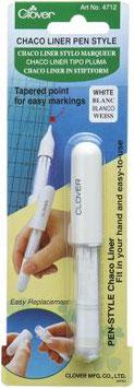 Clover CHACO LINER Stift weiß