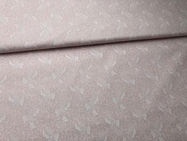 Baumwollstoff rosa bedruckt B10004