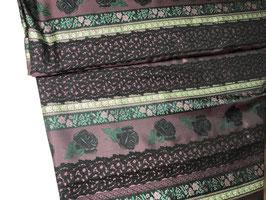 Trachtenjacquard lila-schwarz-grün J10038