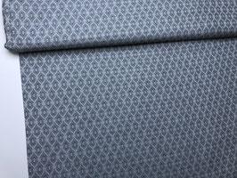 Leinenmischung grau blau L10011