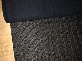 Blusenstoff schwarze Jacquard-Spitze B00005