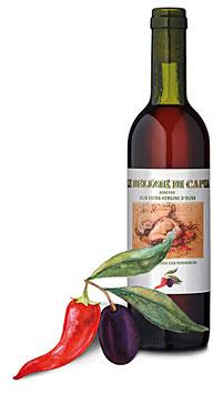 Olivenöl Extra Vergine mit Peperoncino