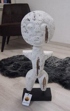 Skulptur aus Holz. Tolles Deko. Home Sweet Home