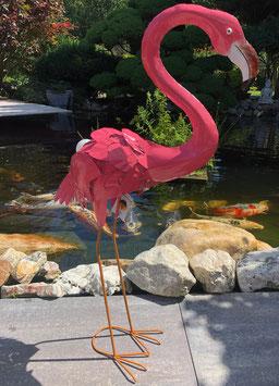 Flamingo, Vogel- Skulptur, Passion in Pink