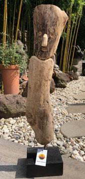 Skulptur aus altem Holz, Unikat
