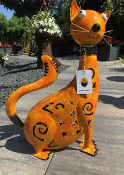 Katze, Kater,  Tierfigur für Drinnen u. Draußen. Bali Paradies