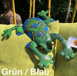 Frosch, Kröte, Wanddekoration aus Metall, Dekoration für den Garten
