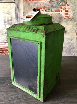 Laterne Windlicht Metall Loft Shabby Lampe Gartenlaterne aus recycelten Kanister