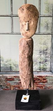 Mystische Skulptur aus altem Holz, Unikat