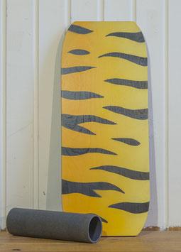 großer Tiger in gelb