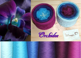 Blaue Orchidee (6-fädig)
