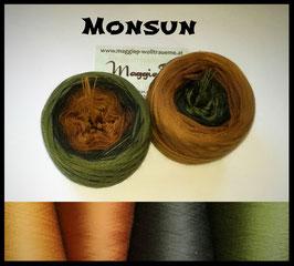 Mütze Monsun 5-fädig