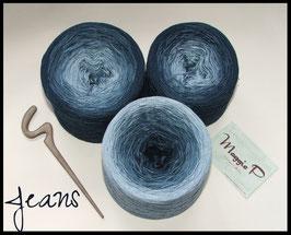 Jeans (Viskose) 4-fädig