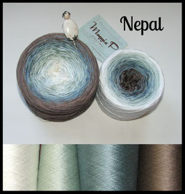 Nepal  100% Viskose 3-fädig