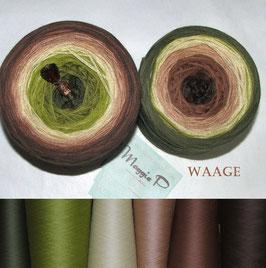 Waage  (4-fädig)